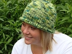 Learn to Knit in the Round - Basic Hat