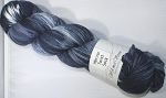 Merino Twist Sock Knotted - Steel Blue
