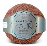 Zealana:Kauri Worsted  K08 Waka Brown worsted