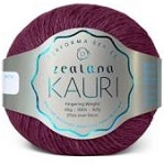 Zealana:Kauri Worsted  K14 Red Tuhi