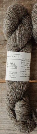 Le Petit Lambswool - Grey Brown