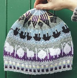 TWO HANDED FAIR ISLE HAT