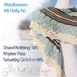 Shawl Knitting 101: Khyber Pass Shawl with Simone Kereit