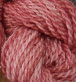 Mini Skein - Wine Rose
