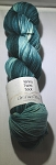 Merino Twist Sock Knotted - Dark Teal