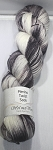 Merino Twist Sock Knotted - Quiet Shade